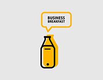 Business breakfast re-branding