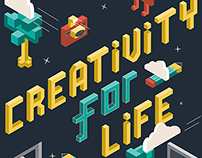 Creativity for Life - Mural