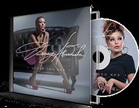 Cover design for the singer Dilnaz Ahmadieva