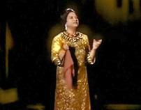 Um Kulthum Hologram - MBC opening ceremony cairo