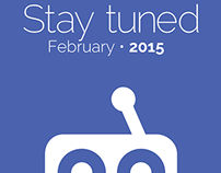 """KBCU-FM 88.1 """"Stay tuned"""" promotional campaign"""
