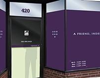 Weed Barn storefront design