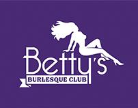 Betty's Burlesque Club - Logo & Brand Identity Manual