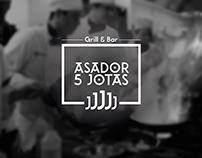 """Logo """"Asador-5-Jotas"""""""