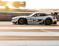 BMW Z4 GT3 in action