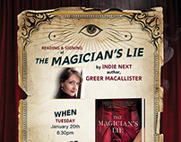 Book Signing Promotional Posters