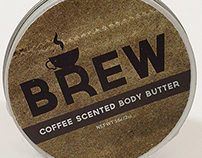 BREW Body Butter - Package Design