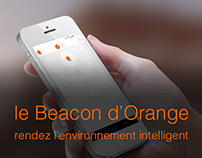 Le beacon d'Orange