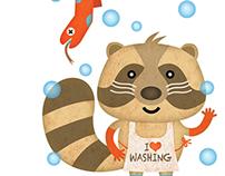 Children's Book Illustration - Le favole dell'attesa