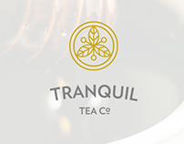 Tranquil Tea Co. Visual Brand