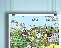 Poster prints for sale-Lullalove - children's room