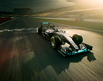 Mercedes F1 Calendar