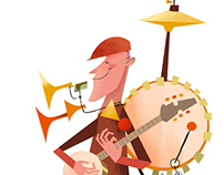 One Man Band Stand