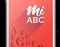 Mi ABC, palabras en español