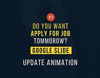 personal portfolio google slide template