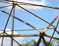 Installation | Bamboo Geodesic Dome