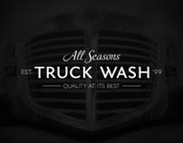 All Seasons Truck Wash Branding