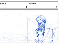 Storyboard: La Leyenda de Melda p.8 (Parodia Zelda)