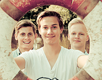 Promo photos for Men Upstream 2012