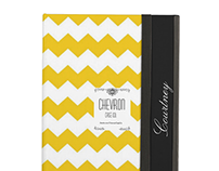 Chevron Mustard  Personalized Case For iPad Air