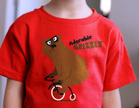 Adorable Grizzly t-shirt