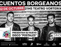 Grafica + Fotos | Cuentos Borgeanos | Vorterix 12/10