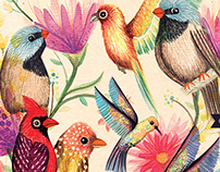 Birds Prints and Patterns