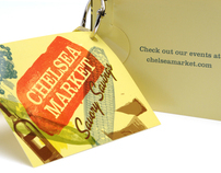 Chelsea Market Coupon Ring & Ad