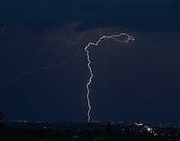 Sonoran Monsoon Lightning