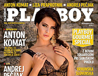 PLAYBOY - Slovenia - Cover  - December 2014