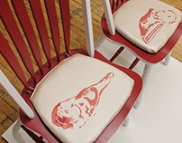 Meat Seats: Kitchen Chairs