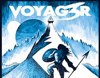 "Art for VOYAG3R's ""Secret Of The Ice Mountain"""