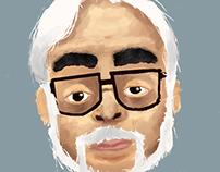 Miyazaki Portrait