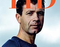 Ole Einar Bjørndalen cover for Tid magazine by Protid