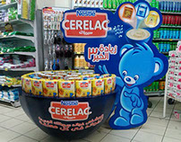 cerelac floor display