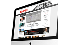 Empire Magazine Web Redesign Concept