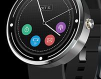 Moto - 360 Watchface