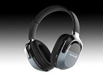 Wireless Bluetooth Headphone Concept