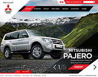 Mitsubishi Motors Web Site Redesign