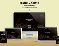 Ekstrom - Responsive Wordpress Website