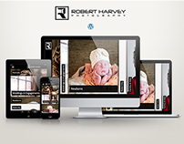 Robert Harvey Photography -Wordpress Responsive Website