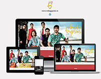 Indo Gypsies - Wordpress Responsive Website