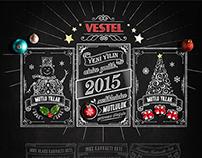 Vestel - Yılbaşı Sitesi (New Year Web Site)