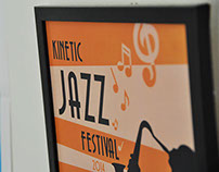 Kinetic Jazz Festival Poster
