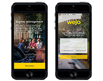 Wejo Website and Mobile App Development