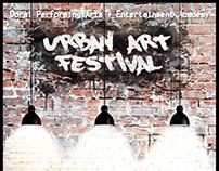 Promo Flyer for an Arts Festival