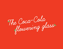 Coca-Cola Flowering Glass