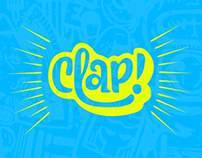 CLAP // identidade visual