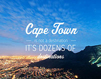 Presentation Slides for a Cape Town Tourist Company