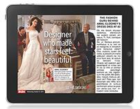 Oscar de la Renta - The Sun Newspaper, iPad & Android